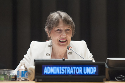 Helen Clark, United Nations Development Programme (UNDP) administrator
