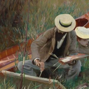 An Out-of-Doors Study (John Singer Sargent, 1889)
