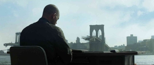 Un'immagine del film I am Legend