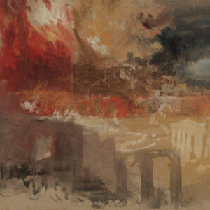 JMW Turner, The Burning of Rome, circa 1834-5