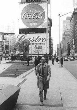 Pier Paolo Pasolini a New York