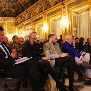Il pubblico del convegno di Firenze 'Riparliamone: la lingua ha un valore' (foto di Antonello Serino Met)