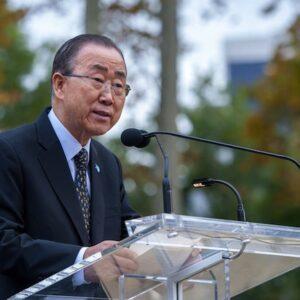 Il Segretario Generale delle Nazioni Unite Ban Ki-moon (Foto ONU- Cia Pak)