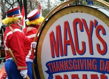 Un momento della Thanksgiving Day Parade