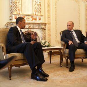Russia, 7 luglio, 2009: uno dei primi incontri tra Barack Obama e Vladimir Putin