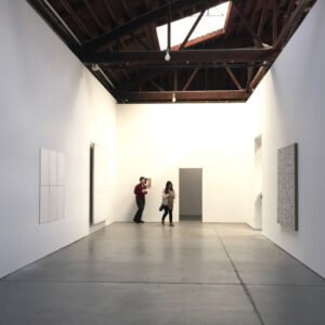 """Robert Ryman"", Gallery 1, installation view (Dia:Chelsea)"